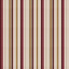 Plum Garden Stripes Drapery and Upholstery Fabric by Fabricut
