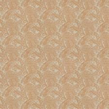 Pumpkin Paisley Drapery and Upholstery Fabric by Fabricut