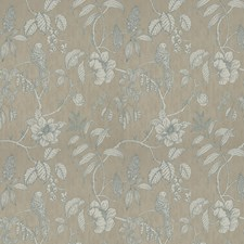 Sea Water Animal Drapery and Upholstery Fabric by Vervain