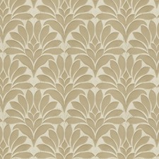 Beige Damask Drapery and Upholstery Fabric by Fabricut