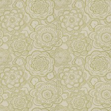 Peridot Floral Drapery and Upholstery Fabric by Fabricut