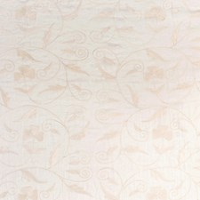 Cream Embroidery Drapery and Upholstery Fabric by Fabricut