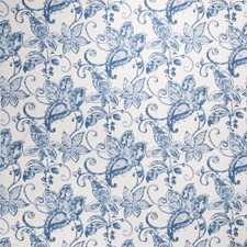 Blue Paisley Upholstery Fabric By Fabricut
