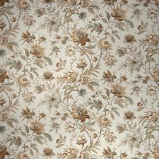 Bayleaf Floral Drapery and Upholstery Fabric by Fabricut