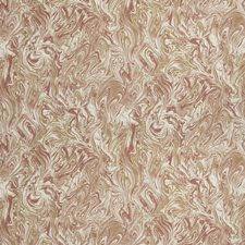 Coral Clay Geometric Drapery and Upholstery Fabric by Fabricut