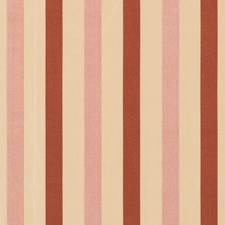 Rose Stripes Drapery and Upholstery Fabric by Vervain