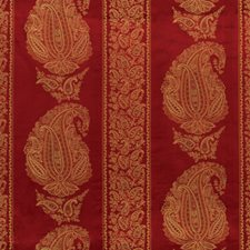 Ruby Paisley Drapery and Upholstery Fabric by Vervain