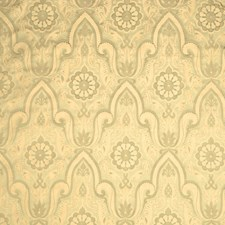 Garden Damask Drapery and Upholstery Fabric by Vervain