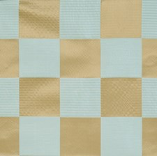 Aquaglace Geometric Drapery and Upholstery Fabric by Vervain