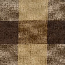 Mink Check Drapery and Upholstery Fabric by Vervain
