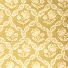 Bamboo Floral Drapery and Upholstery Fabric by Vervain