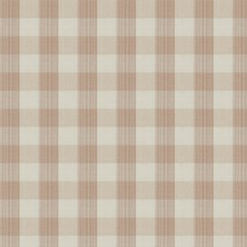 Rosewater Check Drapery and Upholstery Fabric by Vervain
