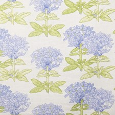 Lilac Floral Drapery and Upholstery Fabric by Vervain