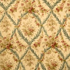 Teastain Floral Drapery and Upholstery Fabric by Vervain