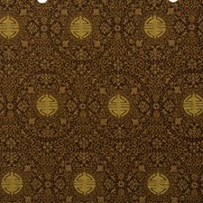 Cumin Jacquard Pattern Drapery and Upholstery Fabric by Vervain