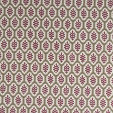 Scarlet Leaves Drapery and Upholstery Fabric by Stroheim