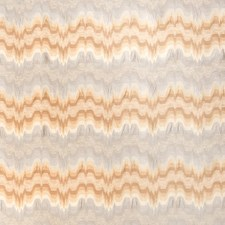 Cashew Flamestitch Drapery and Upholstery Fabric by Stroheim