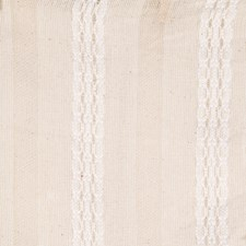 Cream Stripes Drapery and Upholstery Fabric by Trend