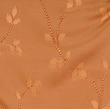 Caramel Floral Drapery and Upholstery Fabric by Trend
