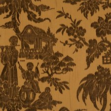 Butterscotch Novelty Drapery and Upholstery Fabric by Trend