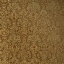 Bronze Paisley Drapery and Upholstery Fabric by Trend