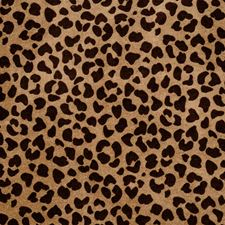 Pecan Animal Drapery and Upholstery Fabric by Trend