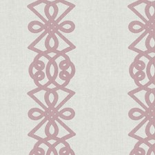 Queen Pink Lattice Drapery and Upholstery Fabric by S. Harris