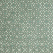 Turquoise Lattice Drapery and Upholstery Fabric by Fabricut