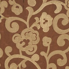 Coffee Bean Drapery and Upholstery Fabric by RM Coco