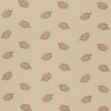 Rouge Leaves Drapery and Upholstery Fabric by Fabricut