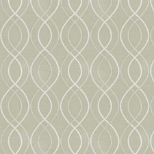 Oyster Pearl Embroidery Drapery and Upholstery Fabric by Fabricut