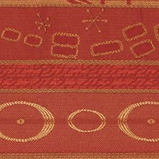Tuscan Red Drapery and Upholstery Fabric by Robert Allen/Duralee
