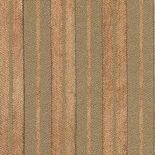 Brown/Green Stripes Drapery and Upholstery Fabric by Kravet