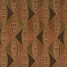 Mocha Spice Drapery and Upholstery Fabric by Robert Allen/Duralee