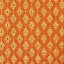 Papaya/sage Drapery and Upholstery Fabric by Duralee