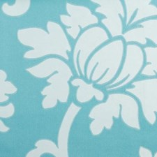 Pool Floral Medium Drapery and Upholstery Fabric by Duralee