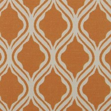 Carrot Ogee Drapery and Upholstery Fabric by Duralee