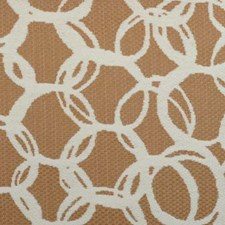 Camel Abstract Drapery and Upholstery Fabric by Duralee