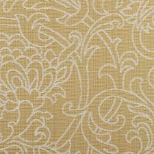 Goldenrod Leaf Drapery and Upholstery Fabric by Duralee