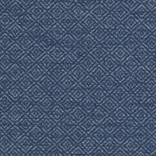 Navy Chenille Drapery and Upholstery Fabric by Duralee