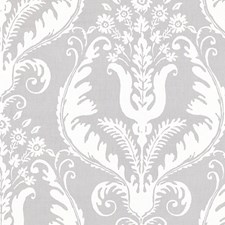 French Grey Drapery and Upholstery Fabric by Scalamandre