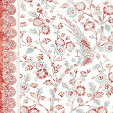 Coral Spice Drapery and Upholstery Fabric by Scalamandre