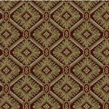 Burgundy/Red/Yellow Small Scales Drapery and Upholstery Fabric by Kravet