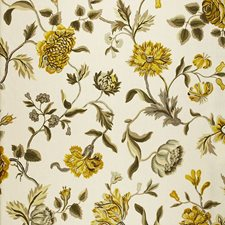 Citrine Drapery and Upholstery Fabric by Schumacher