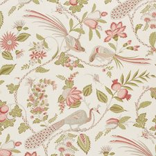 Mineral/amp/Rose Drapery and Upholstery Fabric by Schumacher