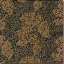 Black/Green Botanical Drapery and Upholstery Fabric by Kravet