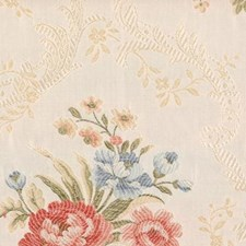 Natural/pink Drapery and Upholstery Fabric by Highland Court