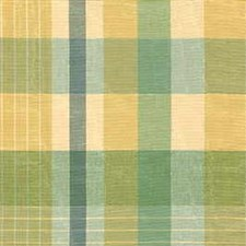 Green/Yellow Plaid Drapery and Upholstery Fabric by Kravet