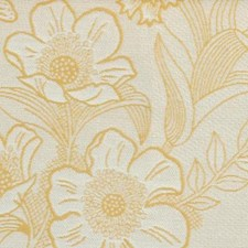 Yellow Drapery and Upholstery Fabric by Highland Court