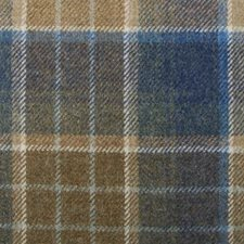 Blue/Brown Plaid Drapery and Upholstery Fabric by Highland Court